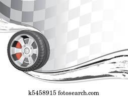 automobile race