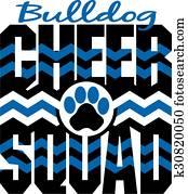 bulldog cheer squad