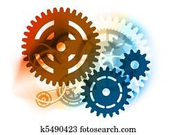 industrial cogwheel