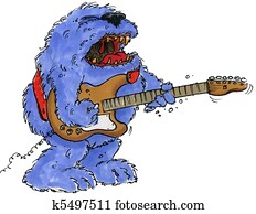 rock monster guitar