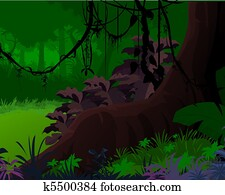 Artistic view of Jungle