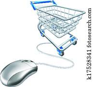 Mouse shopping cart