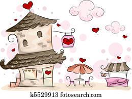 Valentine Cafe
