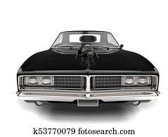 Muscle Car Illustrations And Stock Art 761 Muscle Car Illustration