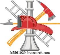 Firefighter Tools logo