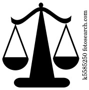 balancing scale or scales of justice