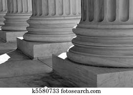 Pillars of Law and Justice United States Supreme Court
