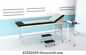 Hospital consulting room