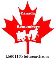 Canada Remembers veterns