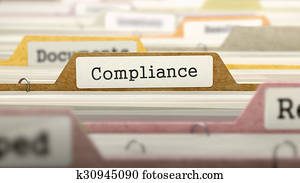 Compliance Concept on Folder Register.