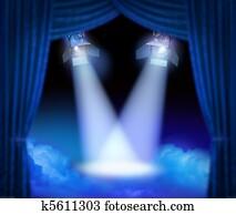 Grand premiere stage