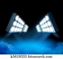 Stadium lights premiere