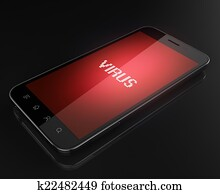 Smart phone infected