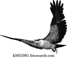 μεγάλο πουλί τέρας
