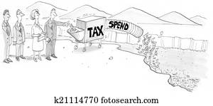 Government Taxing and Spending