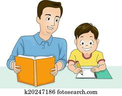 Father and Son Homework