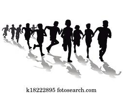 foot race clip art and illustration 610 foot race clipart vector rh fotosearch com race clip art png race clip art free