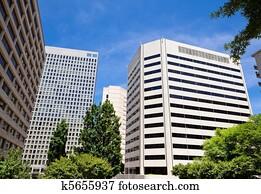 High Rise Office Buildings Rossyln Virginia USA