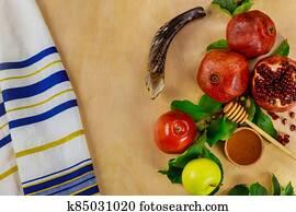 New Year, Rosh Hashanah, Yom Kippur.