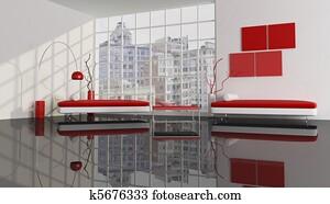 Contemporary city apartment
