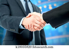 Business deal finalized, congratulations!