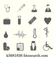 Health care and medical symbols
