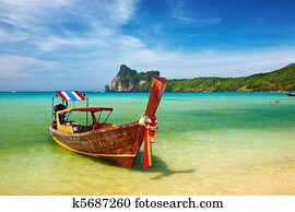 Tropical beach Thailand