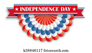 Independence Day USA Bunting