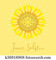 Poster on June Solstice