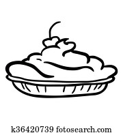 Cherry Pie Clip Art Vectors | Our Top 1000+ Cherry Pie EPS ...