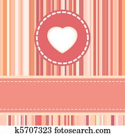 Clipart Of Love Card Design Wedding Or Valentine Eps 8 K8323545