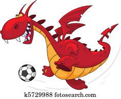 dragon footballer