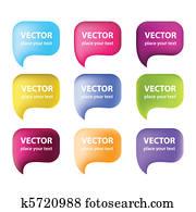vector-bubbles-for-speech