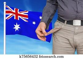 Financial crisis in Australia - recession