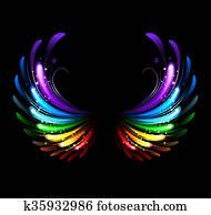 Rainbow Wings