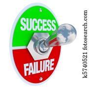 Success vs Failure - Toggle Switch