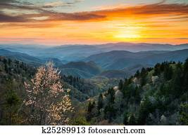 Great Smoky Mountains National Park Cherokee North Carolina Scen