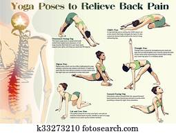 Yoga Poses to Relieve Back Pain