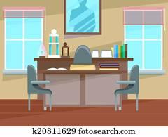 Principal's Office Interior