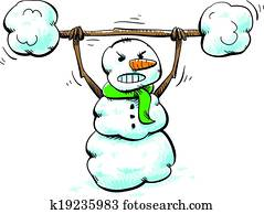 Strong Snowman Workout