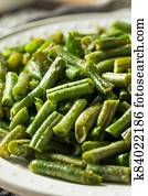 Homemade Sauteed Cooked Green Beans