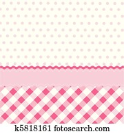 seamless baby girl pattern, wallpap