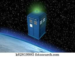 Time travel Police Box