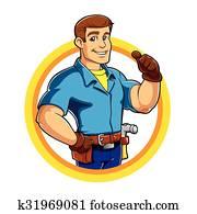 Handyman and Work Tool