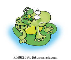 mother frog