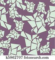 seamless lavender glacier pattern