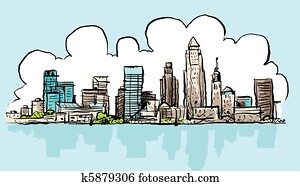 Cartoon Cleveland
