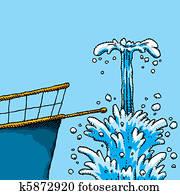 Overboard Splash