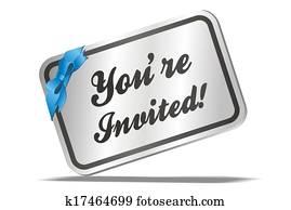 invitation card - tou're invited!