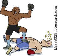 Knockout victory